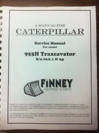 cat caterpillar 955h crawler loader dozer service technical manual