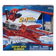 amazon com marvel spider man super web slinger toys u0026 games