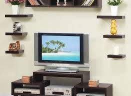 Hanging Wall Bookshelves by Somer Hanging Shelves And Cabinet Modern Display And Wall Hanging