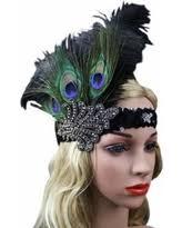peacock headband deals on 1920s flapper peacock feather headband great gatsby