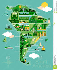 Geographical Map Of South America by South America Map Royalty Free Stock Photography Image 627927