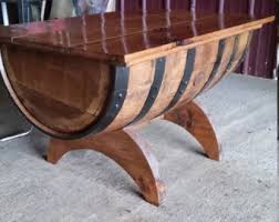whiskey barrel table for sale whiskey barrel table etsy