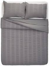 seersucker duvet covers and bedding set ebay