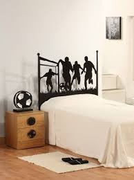 Youth Football Bedroom Soccer Football And Famous Soccer Players Wall Stickers Home Decor