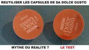 Distributeur Dosette Dolce Gusto by Reutiliser Les Capsules Dolce Gusto Krups Circolo Youtube