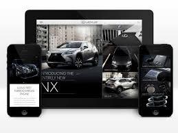 lexus virtual drive app lexus rc and nx virtual experience apps u2014 the work of j mc