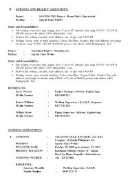 Resume For Welder Job by Robert Apilado Updated Resume