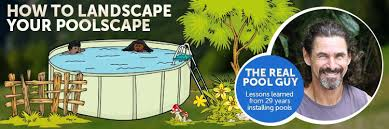 how to landscape around an above ground pool inyopools com