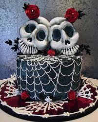 skull cake topper spooky cake ideas