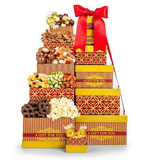 classic distinction chocolate gift tower