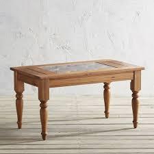 turned leg coffee table chiara wood turned leg coffee table pier 1 imports