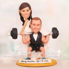 weight lifting cake topper weightlifting cake topper search wedding cake