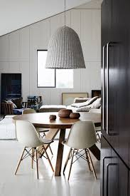 eames inspired dining table random inspiration 116 monochrome dining room design and interiors