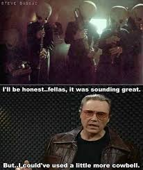Christopher Walken Cowbell Meme - walken cowbell memes