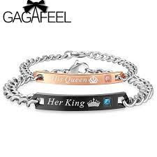 customized name bracelets gagafeel custom engraved name bracelets king his