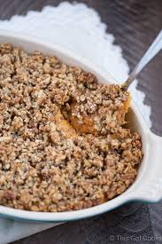 sweet potato casserole with pecan streusel this gal cooks