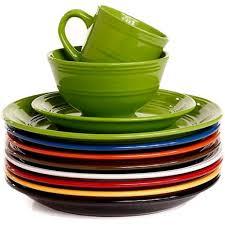 dinnerware colorful dinnerware sets sale best 25 stoneware
