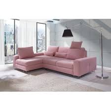pink sectional sofas you u0027ll love wayfair