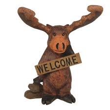 call of the 14 1 2 in standing moose welcome home and garden
