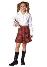 school girl costume school girl top skirt child costume toys