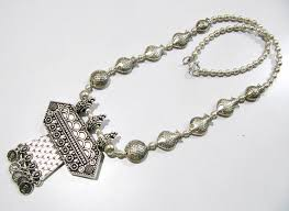 necklace silver india images German long silver necklace manufacturer in agra uttar pradesh jpeg