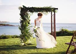 wedding arches bamboo arches canopies hawaiian style event rentals