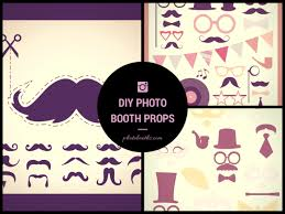 photo booth diy diy wedding photo booth props free downloads chi town brides
