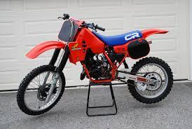 honda cr 125 vintage bike ads