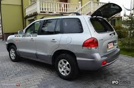 2005 hyundai santa fe type 2005 hyundai santa fe crdi fl diego opłacony skora car