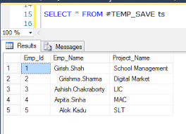 Sql Declare Temp Table Differences Among Cte Derived Table Temp Table Sub Query And