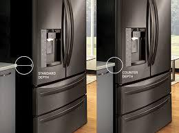 cabinet depth refrigerator dimensions counter depth refrigerator size breathtaking chesalka home interior