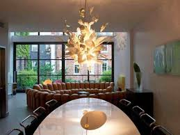Glass Chandeliers For Dining Room Lighting Modern Chandeliers Large Contemporary Chandelier