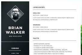 illustrator resume templates illustrator resume template free 1 collaborativenation