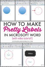 how to write a resume on microsoft word video how to make pretty labels in microsoft word