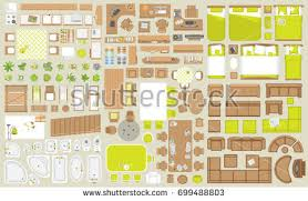 free floorplan furniture vector download free vector art stock