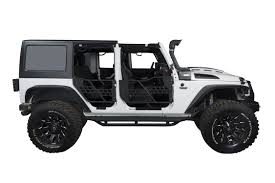 armored jeep wrangler unlimited us armor textured black side step nerf bar for 07 17 jeep wrangler