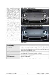 porsche headlights at night led headlight vs hid rennlist porsche discussion forums