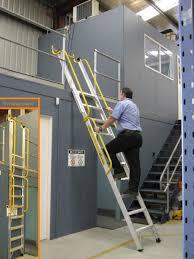 leiter f r treppe stockmaster europe steigtechnik lagertechnik kommissionierung