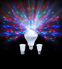 Disco Light Bulb Kam Moonbulb Duo Party Lights Dual Switchable White Light