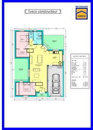 plan maison 80m2 3 chambres plan maison 80m2 3 chambres fizzcur