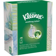 kleenex tissues with lotion 50 sheets pack of 4 walmart