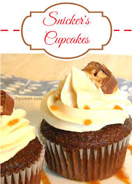 snicker u0027s cupcakes easy cupcake recipes its yummi