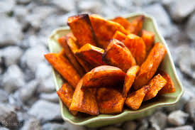 how to make sweet potato for thanksgiving oven baked sweet potato fries recipe simplyrecipes com