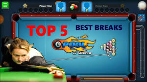 top 5 best breaks in 8 pool best opening breaks pooja 8bp