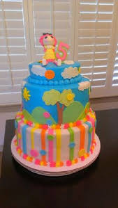 hello kitty baby shower cake fondant accents hand made my cakes