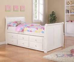 Kids Twin Bed Bedroom Beautiful Kids Twin Bed With Storage Girls Frame Bedroom