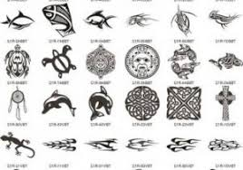 tribal meaning tattoos tribal