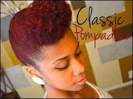 braided pompadour hairstyle pictures updo natural hair tutorial classic pompadour youtube