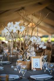 gold white and candles manzanita centerpieces u0026 branches
