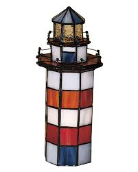Nautical Table Lamps Enchanting Blue White Orange Nautical Table Lamp Fearsome Metal